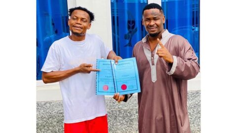 Actor Zubby Michael gifts his personal assistant a plot of land