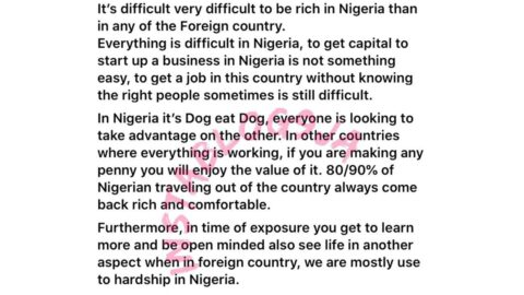It's easier to get rich overseas than in Nigeria — Photographer