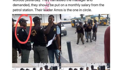 SARS officials harass fuel station manager, demand to be placed on monthly salary in Ikorodu, Lagos