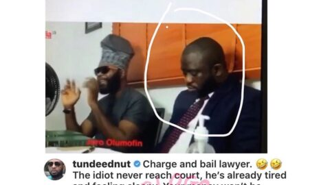 Bloggers At War : Tunde Ednut roars after Joro Olumofin took legal action against him for cyberstalking and allegedly overstaying his visa in the US [Swipe]