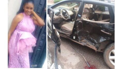 Lady killed, her baby injured as police chase suspected 'Yahoo Boy' in Benin… more