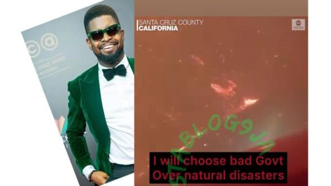 California Fire: I'd choose bad government over natural disasters — Comedian Basketmouth