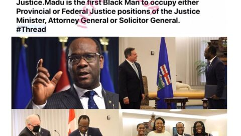 Nigerian born lawyer becomes the first black Canadian Minister of Justice [Swipe]