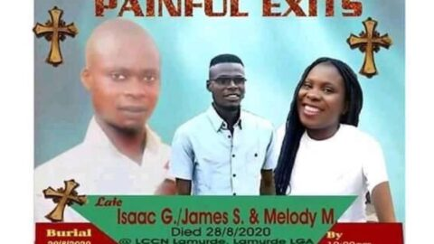 Three missionaries drown on their way to a burial in Adamawa