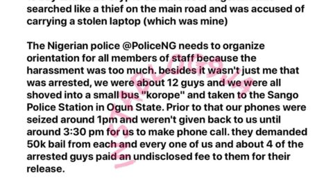 Ogun police officers arrested me for not having license to trade bitcoin — Producer Zinny