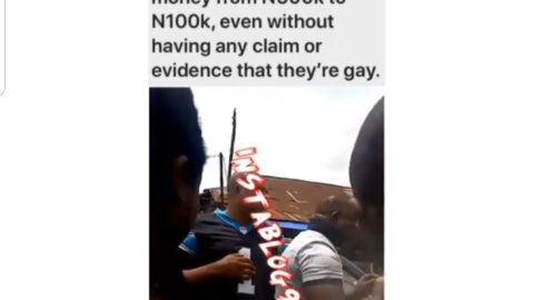Anti-gay law: Police officers allegedly going around arresting feminine boys and demanding huge sum of money from them in Benin, Edo State