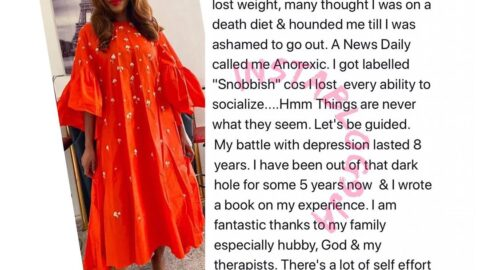 Depression: Things are never really what they seem — Media Personality Betty Irabor