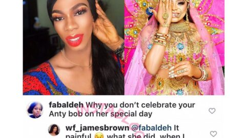 Wahala Wears Wig: Crossdresser James Brown reveals why he snubbed her senior colleague, Bobrisky, on his birthday