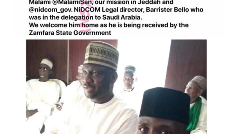 Nigerian student wrongfully arrested for drug peddling in Saudi Arabia, freed and returns home