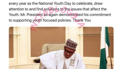 Jubilation as Pres. Buhari approves November 1st of every year, as the National Youth Day