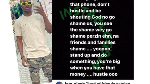 """Be shouting """"God no go shame us,"""" instead of hustling. I made my first million through carpentry in the U.S — Actor Alesh [Swipe]"""