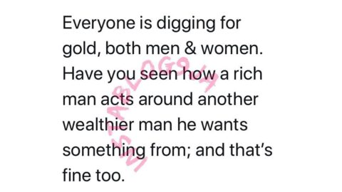 We are all gold diggers and that's fine — Strategist Otigba