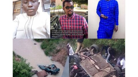Two ABTU final year students, one graduate die in auto crashes .