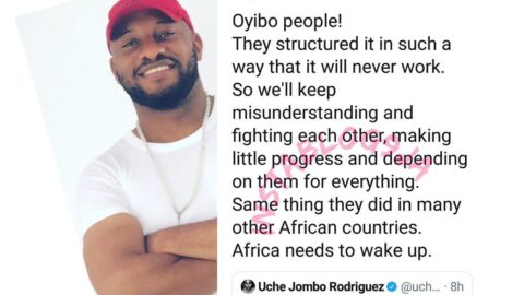 Nigeria and many Africa countries are cursed by white people — Actor Yul Edochie