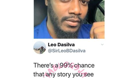 There's a 99% chance that any story you see online about Yoruba men cheating is fake news — Reality star Leo