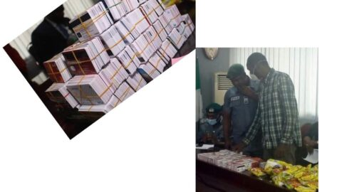 Man arrested with 2,886 ATM cards concealed inside noddles packs at Lagos Airport .