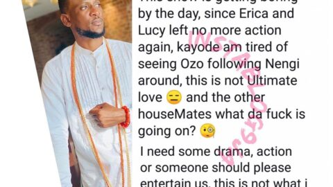 BBNaija: Since Erica and Lucy left the house, the show has become boring — Reality star Omoshola