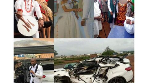Sad: Groom dies in a car accident, three days after tying the knot in Delta .