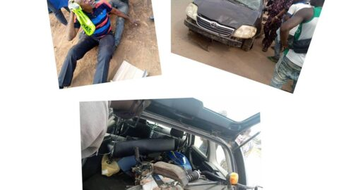 Two dead as overzealous council officials cause accident in Ogun .