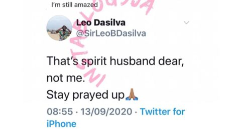 """""""That's a spirit husband not me,"""" Reality star Leo tells a lady who got married to him in her dream"""