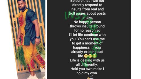 """""""You can't use me to get a moment of happiness in your already existing sad life,"""" Kemen tells trolls"""