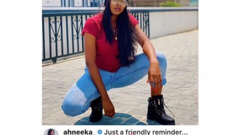 Christian doesn't mean soft. I belong to the gang part of heaven — Reality Star, Ahneeka