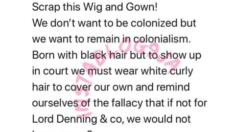 Barrister Effoduh wants Lawyer's Wig and Gown scrapped in Nigeria
