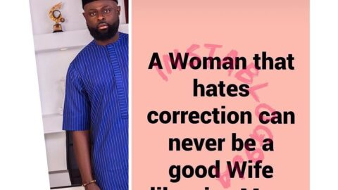 You can never be a good partner if you hate correction — Tailor Yomi Makun
