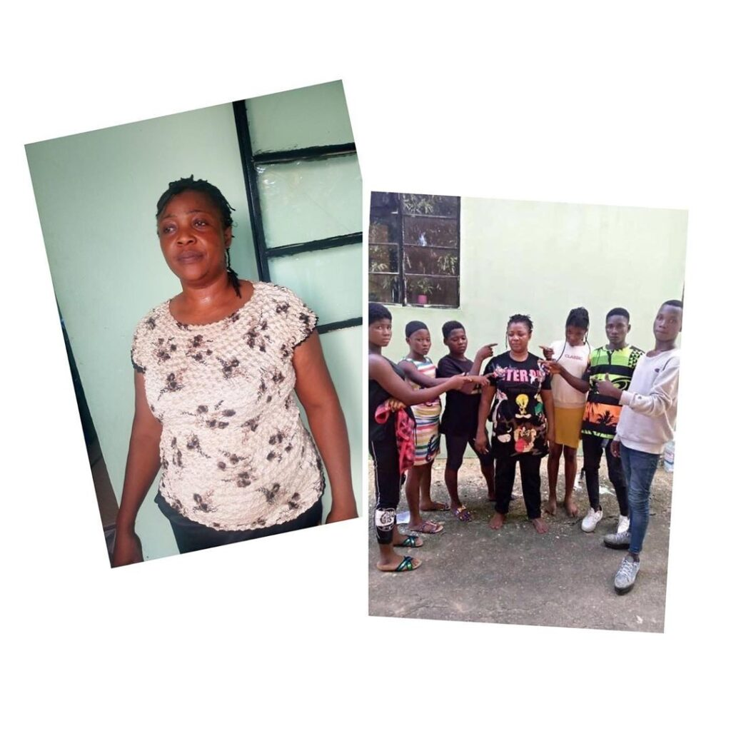 Mama Gee arrested for human trafficking, 6 victims rescued .