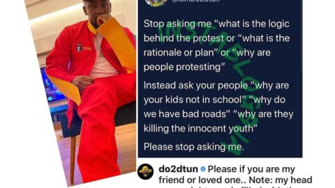 EndSARS: You're the problem if you don't see the decay in the society — OAP Dotun [Swipe]