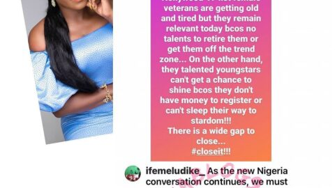 Many up-and-coming actresses are yet to gain relevance because they don't allow hoodlums eat the cookie — Actress Ifemelu Dike [Swipe]