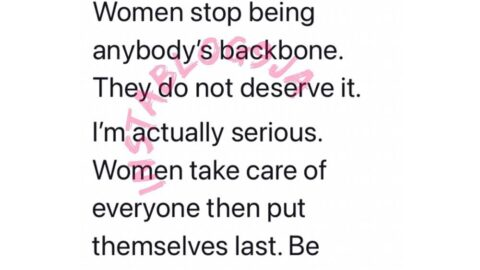 Be selfish. Stop being anybody's backbone — Lawyer Moe, tells women across the galaxy