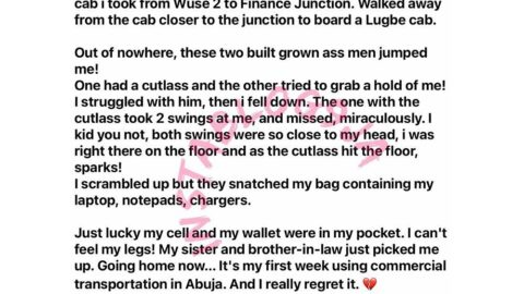 Man recounts the moment he was almost kidnapped in Abuja