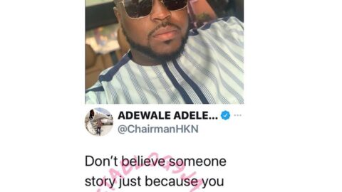 Don't believe someone story just because you heard their side first — Davido's brother, Adewale