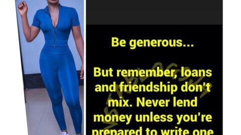 Never lend your friends money unless you're prepared to write it off — Actress Chidimma Aneke
