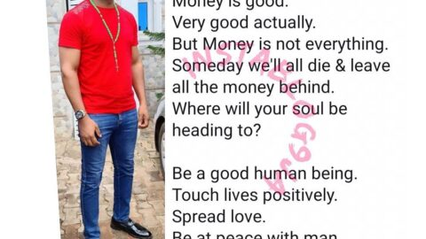 Money is not everything — Actor, Yul Edochie