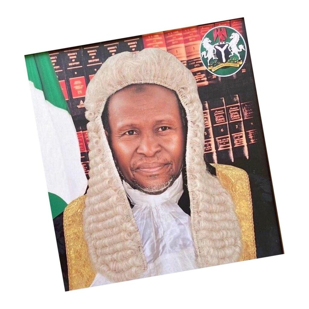 CJN tests positive for COVID-19. Receiving treatment in Dubai