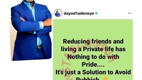 Being a loner has nothing to do with pride — Kennis Music cofounder, Dayo Adeneye