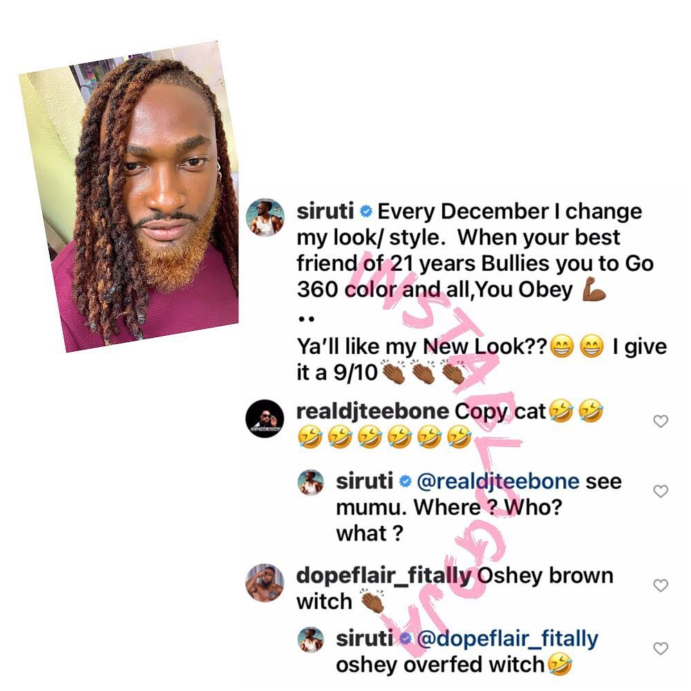 Media personality Uti Nwachukwu  fires back at gainfully employed trolls in his comment section