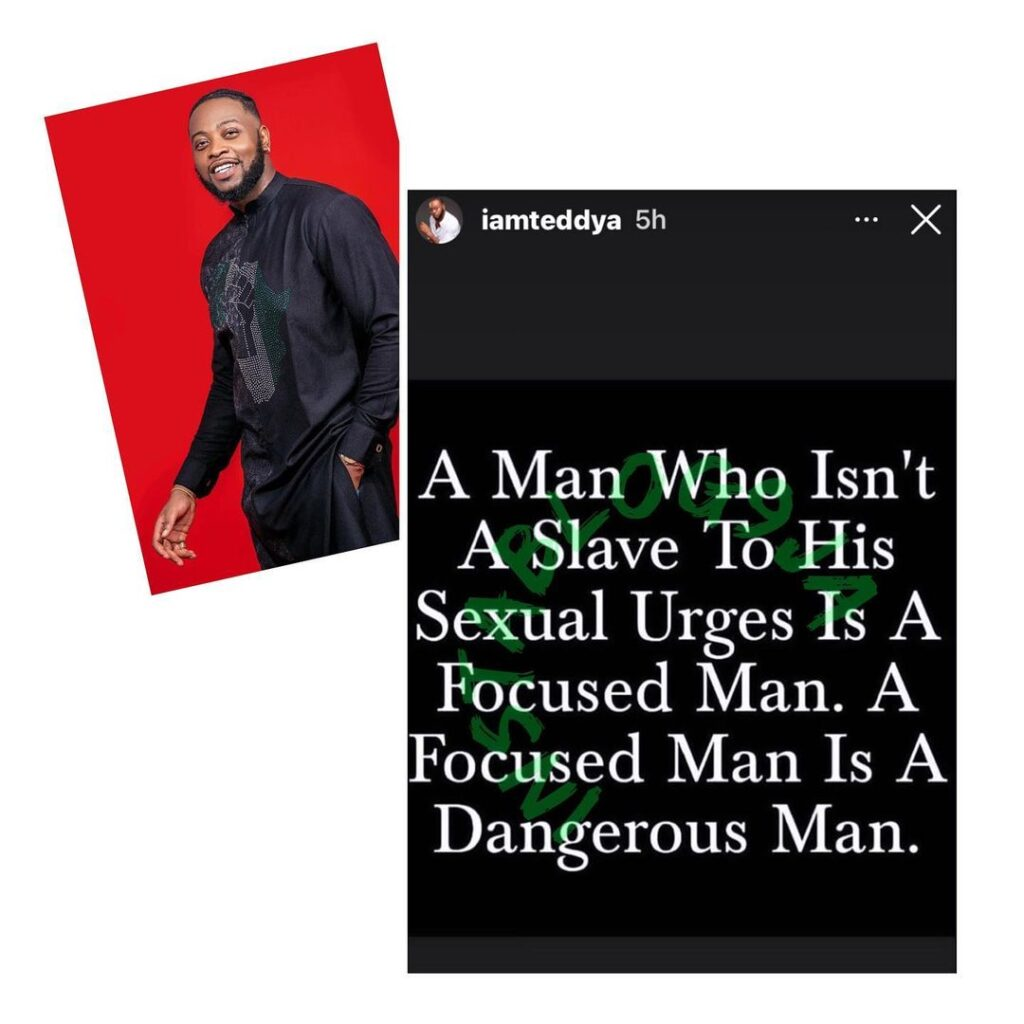 A man who doesn't give in to Konji is a dangerous  man — Reality Star TeddyA