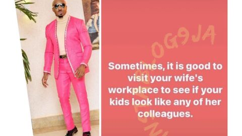 Visit your wife's workplace to see if your kids look like any of her colleagues — Socialite PrettyMike