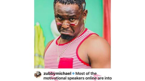 Actor Zubby Michael makes shocking revelation about online motivational speakers