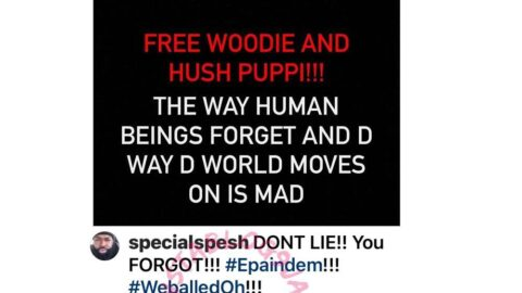 Hypeman Spesh calls on Pres. Trump to free alleged fraudsters Woodberry and HushPuppi