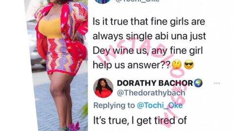 BBN's Dorathy foregrounds an alleged agonies of being beautiful