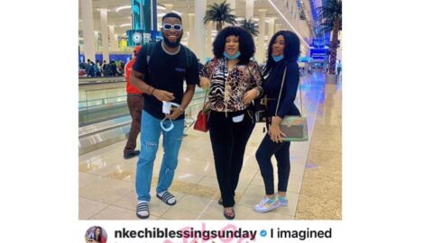Actress Nkechi Blessing takes her personal photographer and his sister on Dubai trip