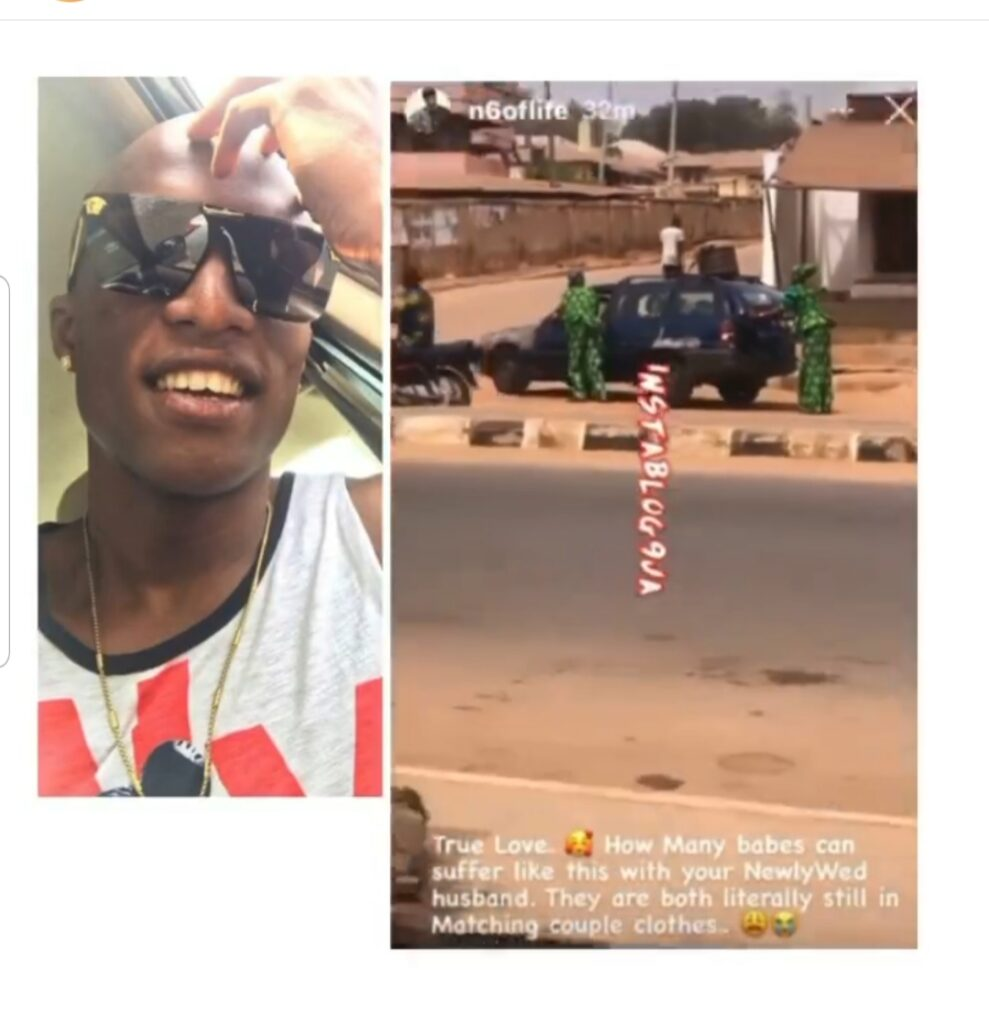 OAP N6 queries ladies after spotting a couple pushing their car in Oyo State