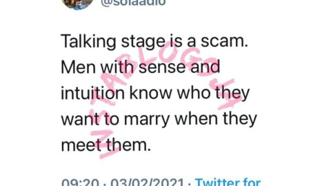 Relationship: Talking stage is a scam — Life Coach Adio