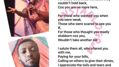 Afrojazz Singer, Yinka Davies, loses her first child