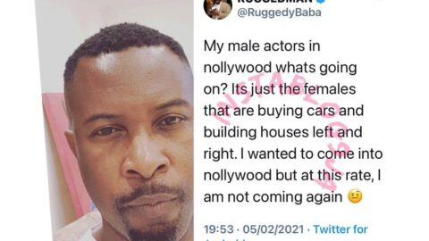 Rapper Ruggedman, questions the male actors in Nollywood