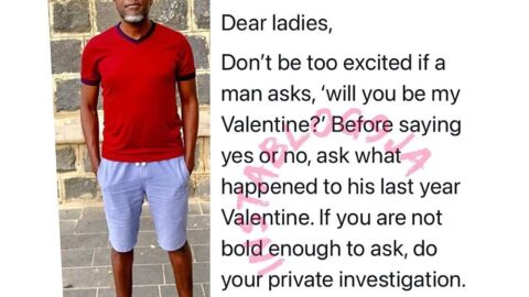 Vals Day: Reno Omokri reveals the question ladies should ask their admirers
